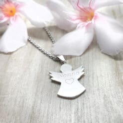 Collana angelo in argento